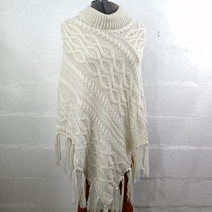 APT 9 PULLOVER SWEATER PONCHO NWT